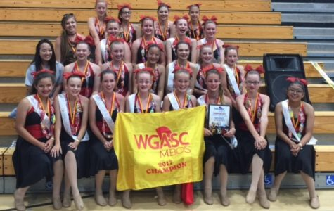 BYMS Winter Guard Wins First Place in Championships