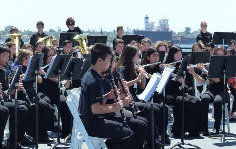 BYMS Wind Ensemble and Advanced Orchestra Perform at USS Midway