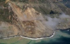 Landslide Along California's Coast Adds 13 Acres