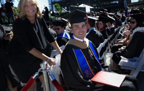 Mother of Quadriplegic Graduate Student Surprised with Honorary Degree