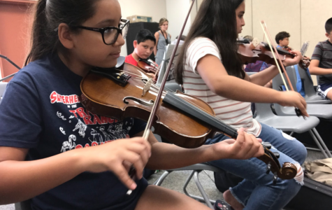 Wilson Conducts Summer Enrichment Musicians with