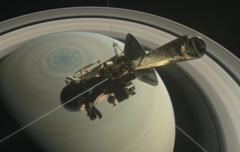 Cassini Ends Saturn Exhibition With a Bang After 13 Years