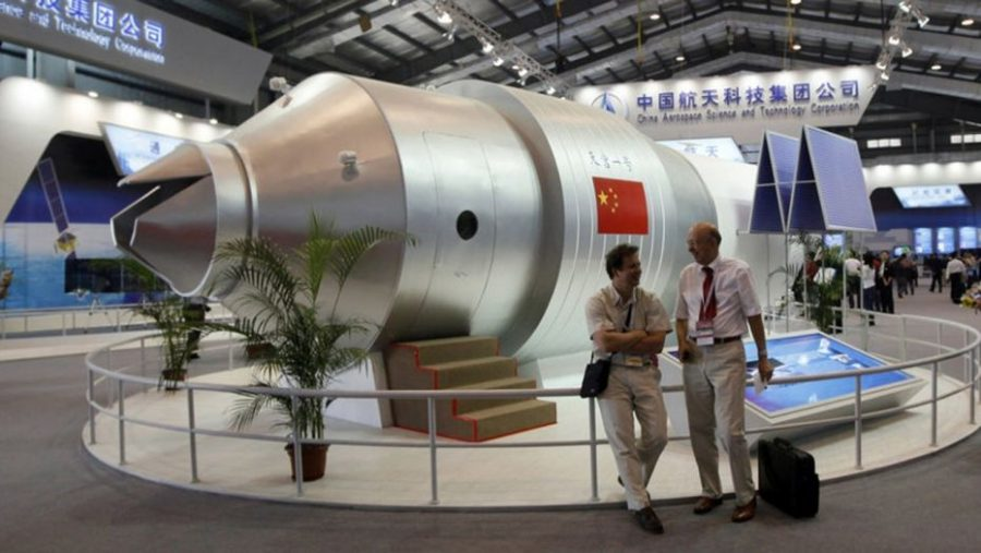 Chinese+Space+Station+to+Crash+Into+Earth