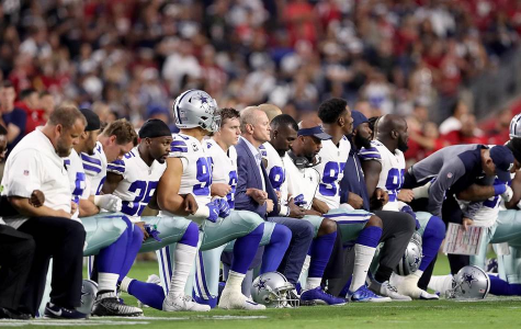 NFL Players Taking A Knee