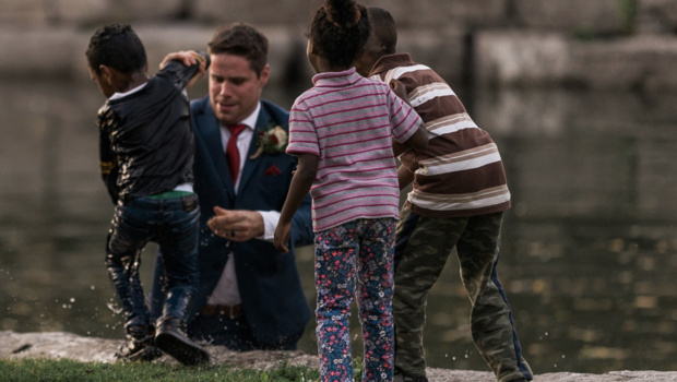 Groom Saves Child From Drowning While Taking His Wedding Photos