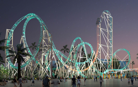Hangtime: The First Dive Coaster On The West Coast, Soon To Open At Knott's Berry Farm