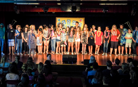 BYMS Choir and Advanced Drama Perform in Anti-Bullying Assembly