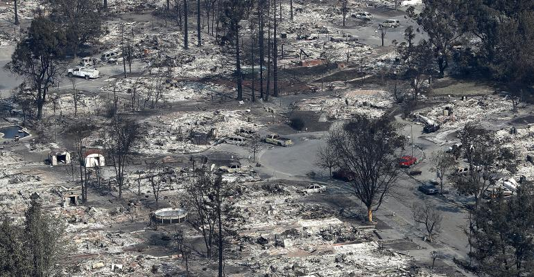 Death Toll Rises To 42 As Fires Near Full Containment