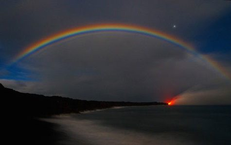 Moonbows Light Up The Evening Skies With Color