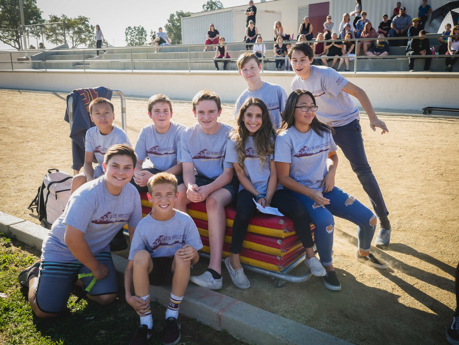 BYMS Honors 452 Students at First Quarter Spirit Rally