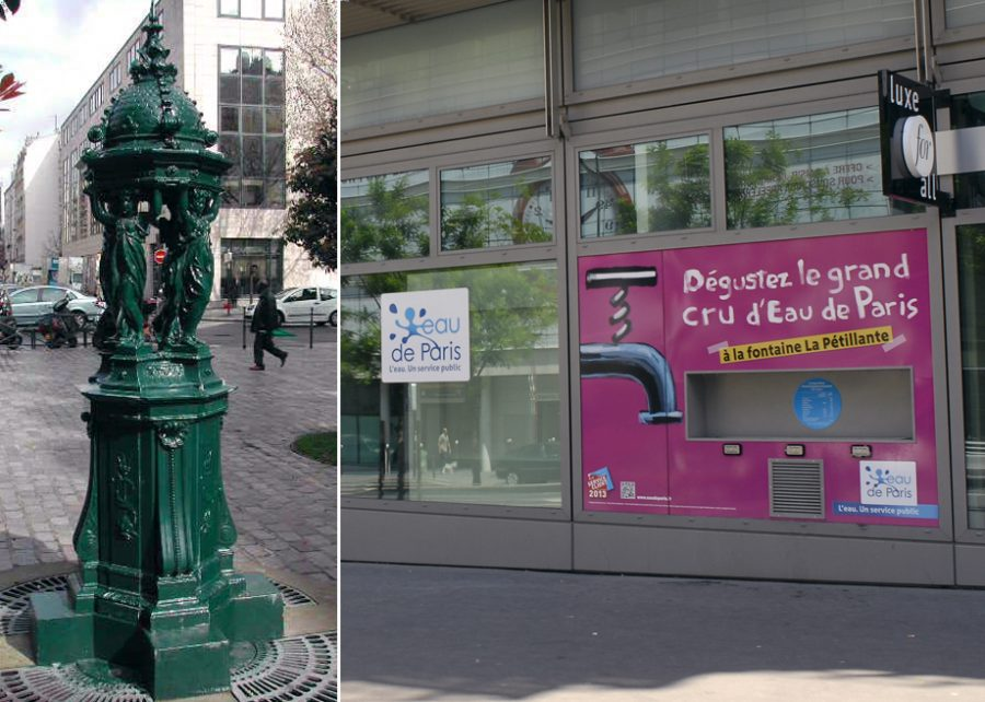 Paris to Install Sparkling Water Fountains