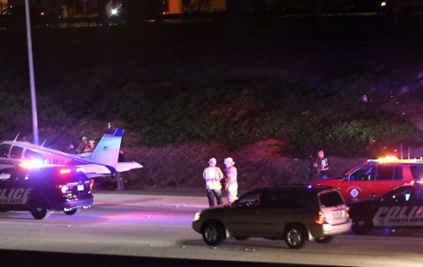 Small Plane Pulls off Emergency Landing on 55 freeway