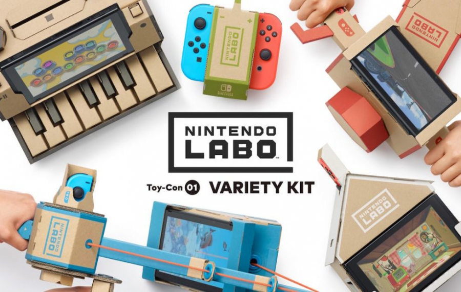 """Nintendo Introduces """"Labo,"""" A Switch Accessory"""