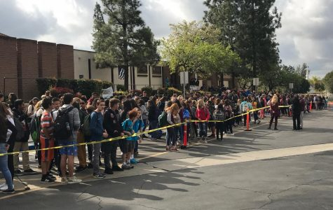 BYMS Students March in Support of the 17 Victims of the Shooting of Douglas Stoneman High School