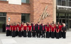BYMS Vocal Ensemble Performs for Music Educators