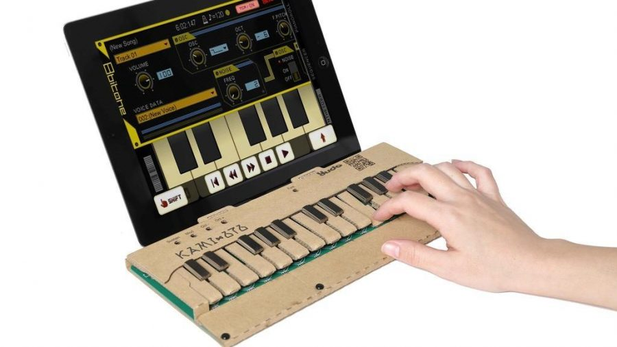 Kickstarter Of The Week: KAMI-OTO, The DIY Cardboard Musical Keyboard Kit