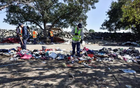 Homeless Removed From Santa Ana River Encampment