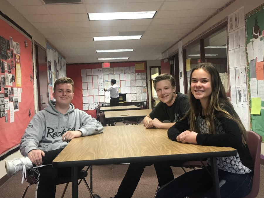 Bisignano, Farrell, and O'Grady to Join EHS Aztlan as Freshman Reporters