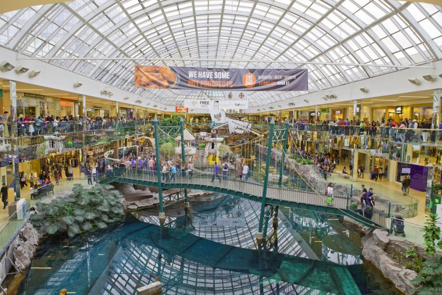 The most unusual shopping malls throughout the world