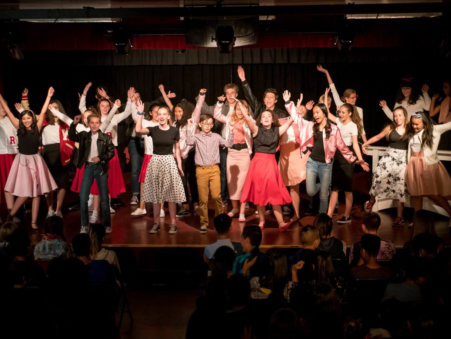 "BYMS Drama Performs Musical ""Grease"""