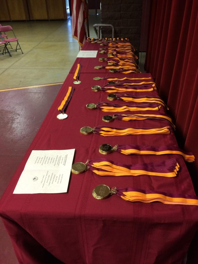 109 BYMS Students Honored On Awards Night