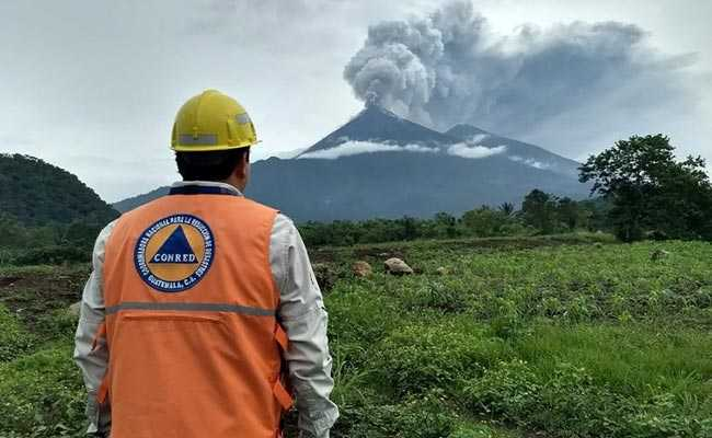 Dozens of Guatemalans Die as Fuego Volcano Erupts
