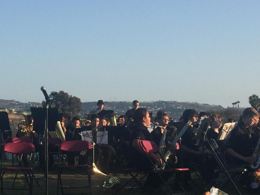 BYMS Combined Bands Perform At Yorba Meadows Concert