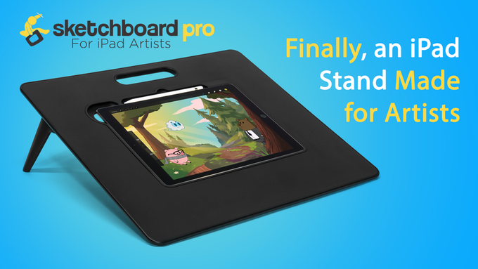 Elevate+Your+iPad+with+SketchBoard+Pro