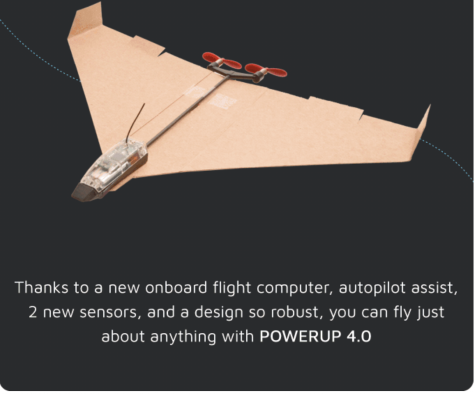Upgrade Your Paper Airplane with POWERUP 4.0 Remote Control
