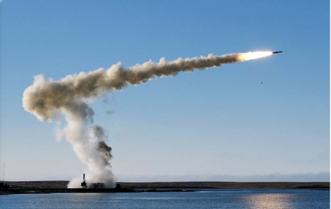 Russian Military Launches Oniks Supersonic Cruise Missile