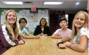 """Students of the Week: Mrs. Gaitan Recognizes """"Enthusiastic and Hard Working"""" Students"""