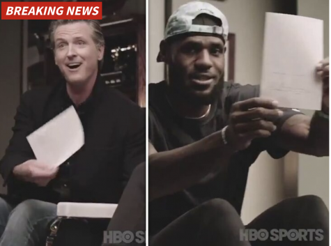 "Lebron James praised Newsom for signing NCAA bill and changing ""countless"" lives."
