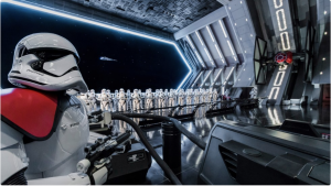 """Disneyland's """"Rise of the Resistance"""" Offers High Tech Special Effects, Trackless Ride System, and a Free Fall Drop Tower"""