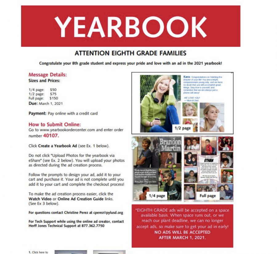 BYMS+Yearbook+Plans+for+2020-2021+School+Year