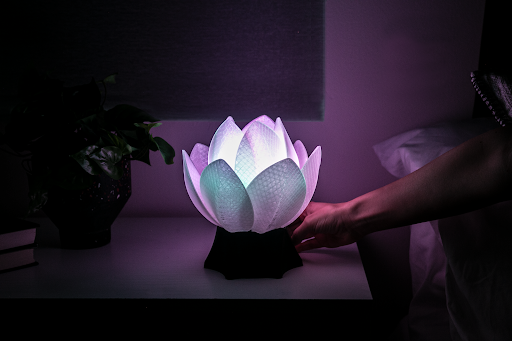 Light Up Your Day With The Lotos Relax Lamp