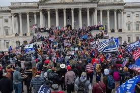 U.S. Capital Stormed by Thousands of Citizens