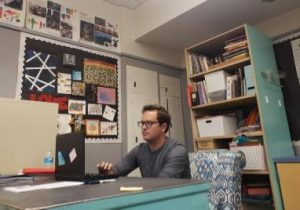 BYMS Welcomes Mr. Hall, Long Term Art Substitute