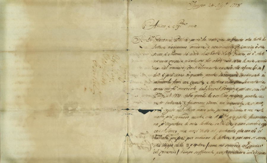 300-Year-Old Letters Recently Discovered