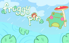 Froggy Pin: The Cute Pal You Can Take Anywhere