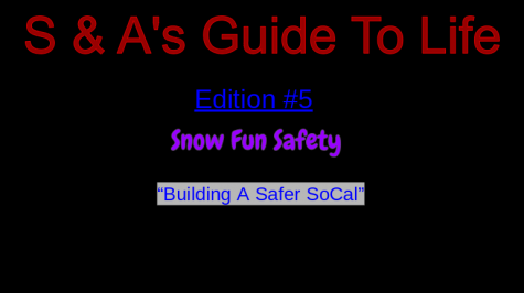 Dashing through the Snow: How to Stay Safe When Snowboarding and Skiing
