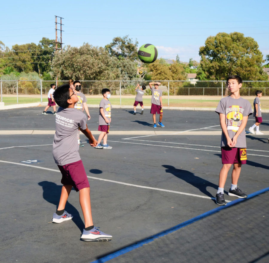 BYMS Sponsors After School Volleyball