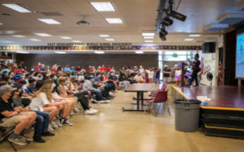 BYMS Holds Their First In-Person Assembly Since 2019